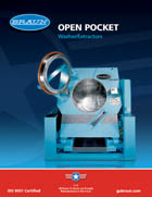 Open Pocket Washer/Extractors