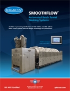 SmoothFlow Batch Tunnel Washers - 150 and 220 Lb.