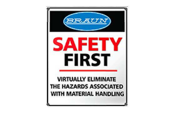 Braun Material Handling Solutions Designed to Promote Wash Aisle Safety