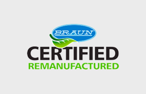 Braun Announces Branding of Their Remanufactured Equipment Program