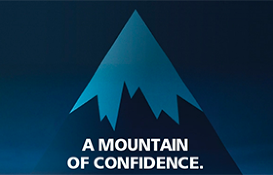 A Mountain of Confidence