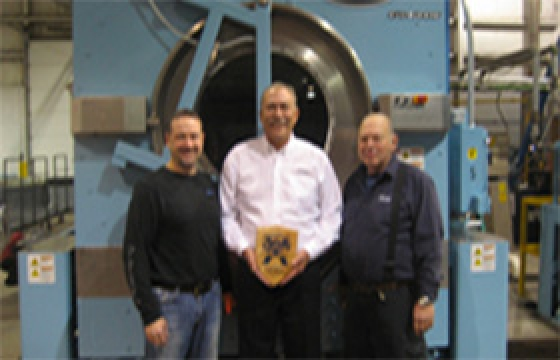 G.A. Braun Awarded 2014 Supplier of the Year!